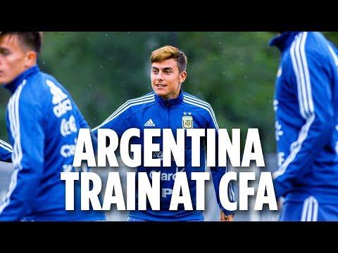 Argentina National Team Trains At Etihad CFA NY | INSIDE TRAINING