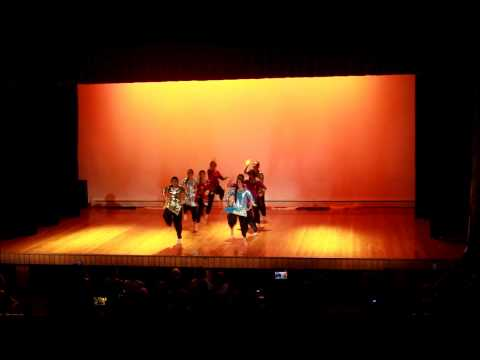 Indian group Epsom girls grammar fiafia night 2014