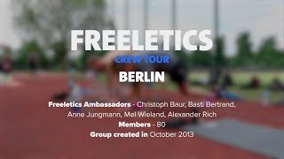 Freeletics Crew Tour 2017 | Berlin, Germany
