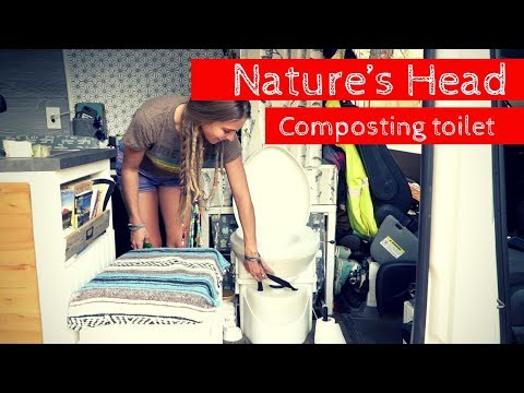 How To Prep And Dump A Composting Toilet Doovi