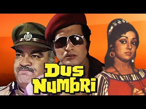 Dus Numbri (1976) Full Hindi Movie | Manoj Kumar, Hema Malini, Pran, Bindu