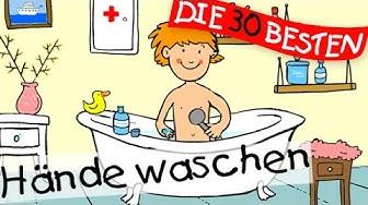 Hände waschen  - Bewegungslieder zum Mitsingen    Kinderlieder