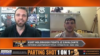 """Titan FC 44's Kurt Holobaugh """"I'm going to be too fast for JZ Cavalcante"""""""