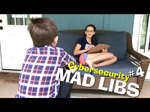 Cybersecurity Mad Libs #4
