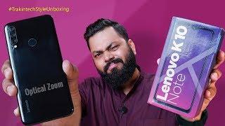 """Lenovo K10 Note Unboxing & First Look ⚡⚡⚡ Kya Ye Naya """"Note"""" Chalega??"""