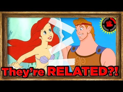 Ariel is RELATED to Hercules?! (Disney's Connected Universe)