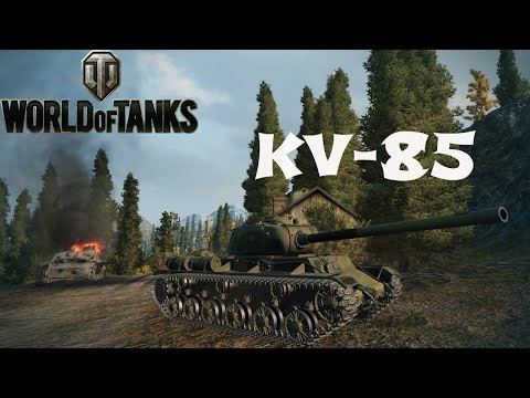 KV-85 Guide & Review + Ace Tanker Gameplay - World of Tanks