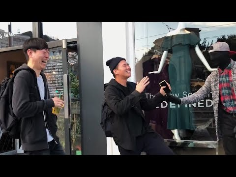 Funniest Moments Mannequin Prank