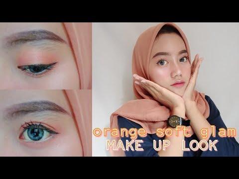soft-glam-(orange)-makeup-tutorial