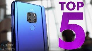 Top 5 Best Camera Smartphone To Buy In 2018 (51,200 ISO, 40MP, 4K, 960fps)