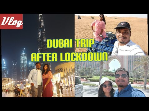 Dubai Trip ✈️ Vlog  | After lockdown | First Anniversary Trip 2021 | Gevora Hotel