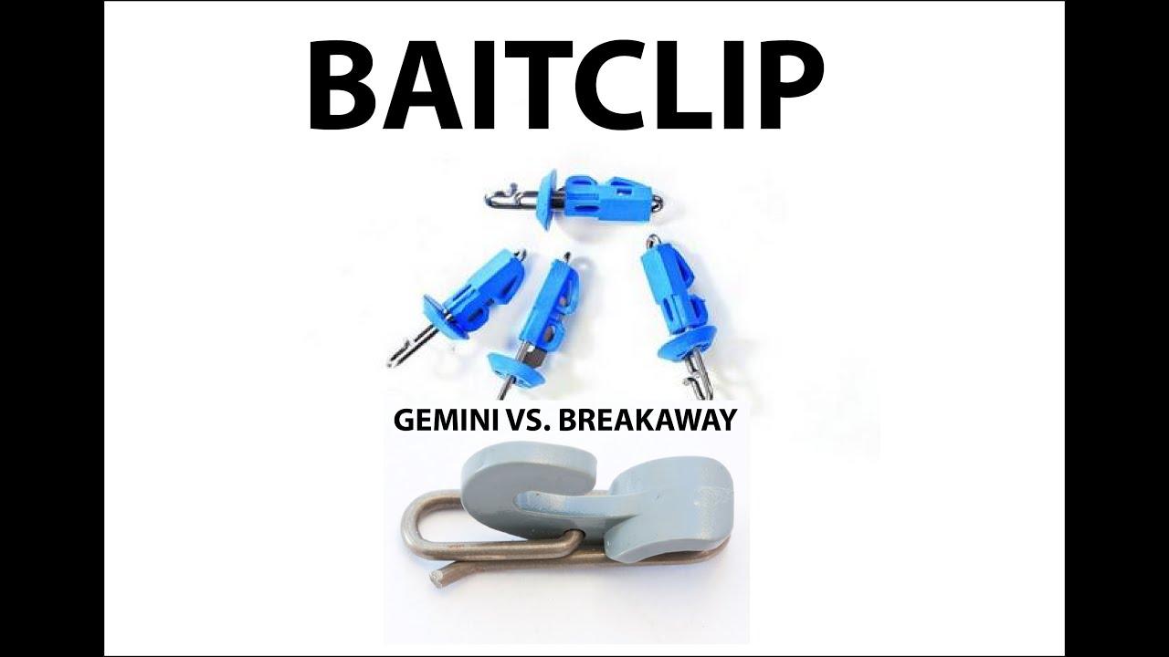 OTG Impact Bait clip Fishing gemini solo release clip hook bait