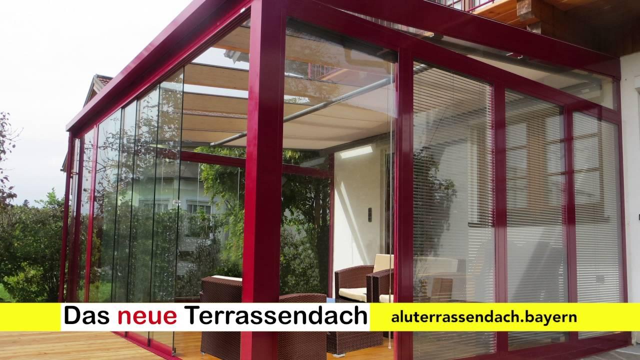 Das Neue Terrassendach Glasdach Direkt Ab Werk Youtube