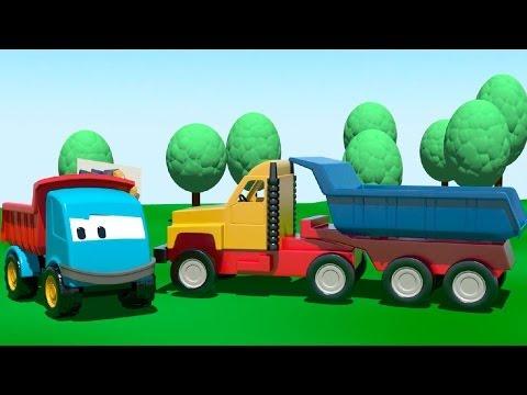 Мультфильмы для малышей про машинки: Грузовичок Лева собирает Большой Грузовик