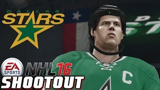 Dallas Stars Central Leaders - NHL 16 - Shootout Commentary ep. 15