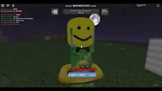 Roblox Creeper Chaos Trash Gameplay Part 1
