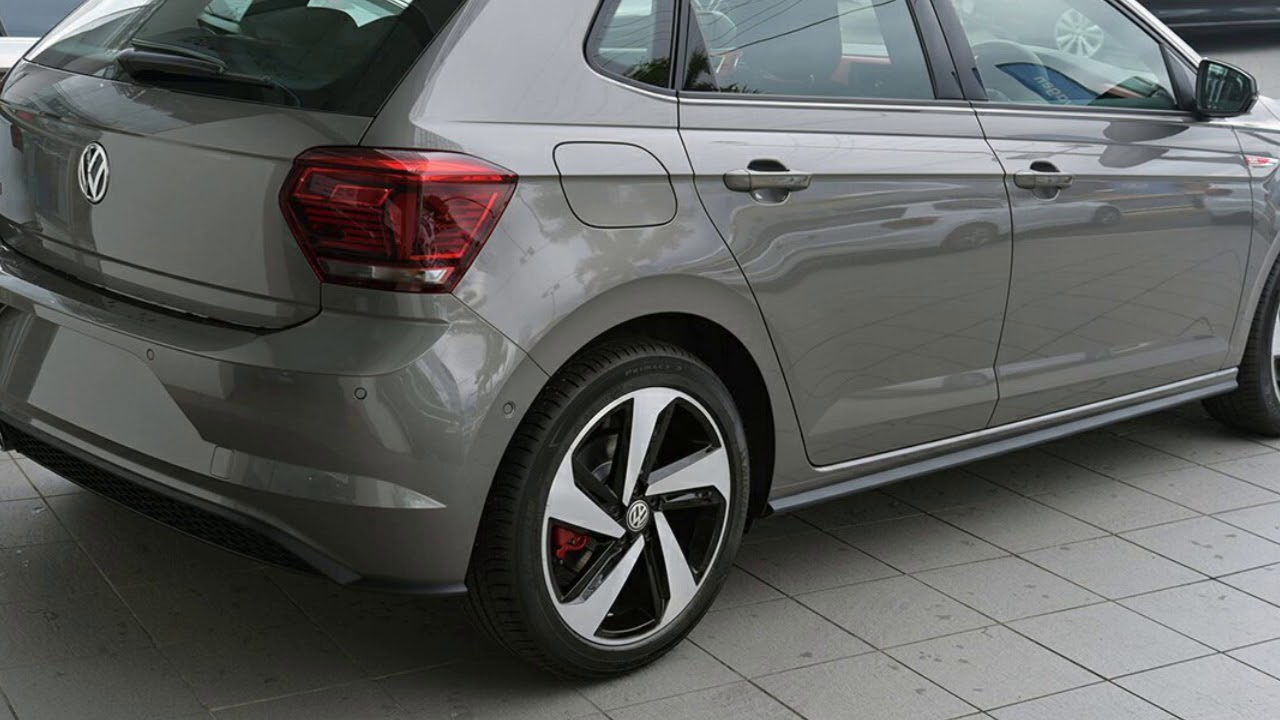 2018 volkswagen polo aw my19 gti limestone grey 7 speed. Black Bedroom Furniture Sets. Home Design Ideas