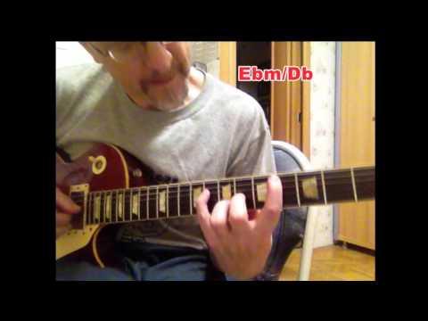 Round Midnight chords progression Lesson