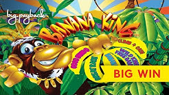 INCREDIBLE SESSION! Dolphin Treasure Banana King Slot - ALL FEATURES!