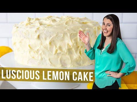 How to Make Luscious Lemon Cake