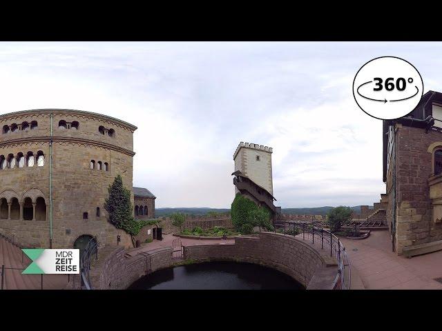 Die Wartburg in Eisenach | 360 VR Video | MDR ZEITREISE