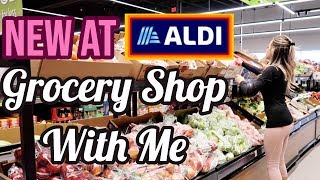 GROCERY SHOP WITH ME AT ALDI + MEAL PLAN // SHOP WITH ME 2019 GROCERY HAUL // FRUGAL LIVING