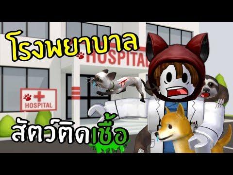 โรงพยาบาลสัตว์ติดเชื้อ | Roblox