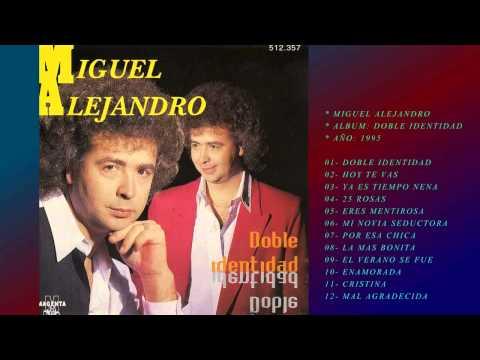 MIGUEL CONEJITO ALEJANDRO CD ENTERO COMPLETO DOBLE IDENTIDAD