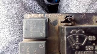 видео Блок предохранителей ВАЗ 2110