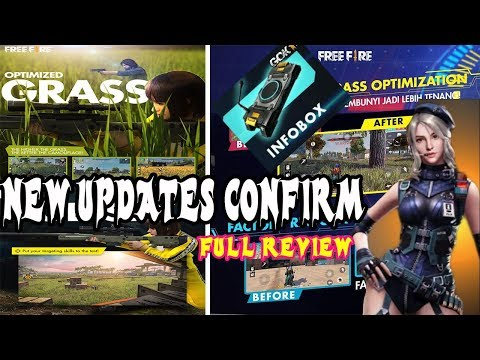 FREEFIRE- ALL NEW UPDATE DETAILS!! NEW CHARACTER, NEW GUN AND SOME HIDDEN UPDATES CHECK OUT!!