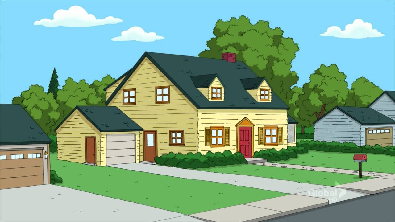 Family guy house house plan 2017 for House plan guys