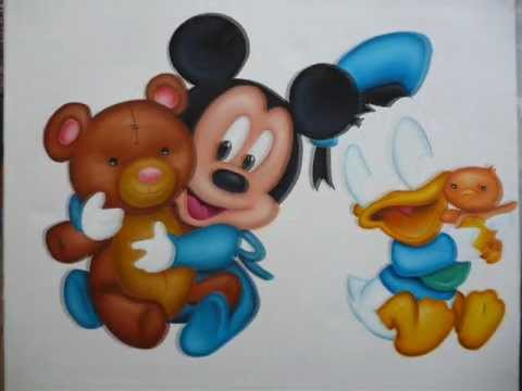 Oil Painting Walt Disney