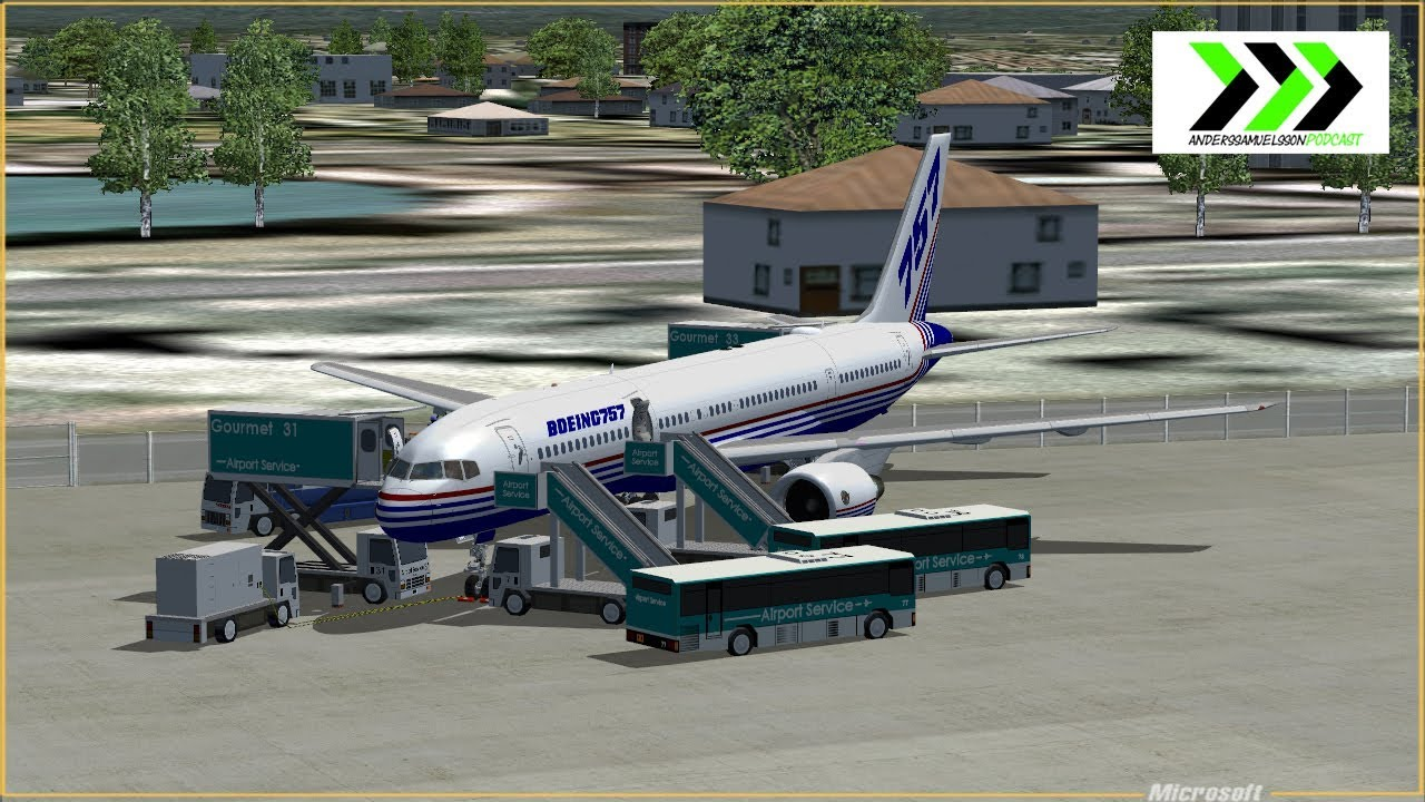 TDS 757-200 for FS9 and FSX