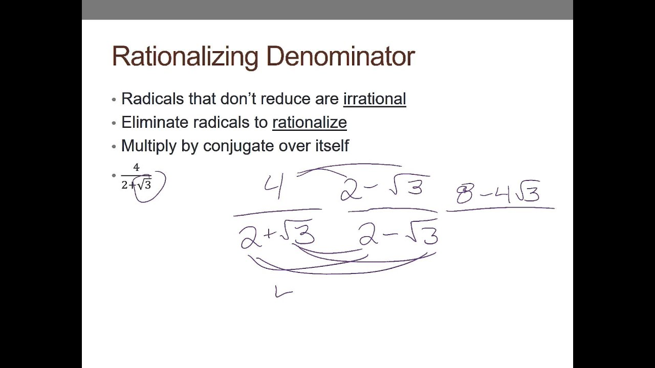 worksheet Exponents And Radicals 5 1 notes exponents and radicals youtube radicals