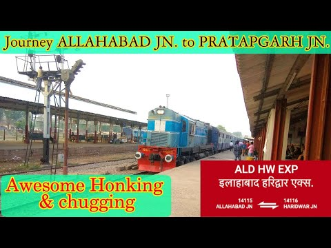 Full Journey from ALLAHABAD JN. to PRATAPGARH JN. By ALD-HW Express Train Journey || Indian Railways