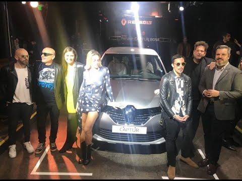 #INDUSTRIA.- A todo volumen, Renault lanzó el Captur Bose
