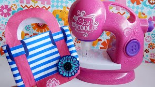Sew Cool Sewing Machine Glitter Edition PART TWO Toys R Us Exclusive