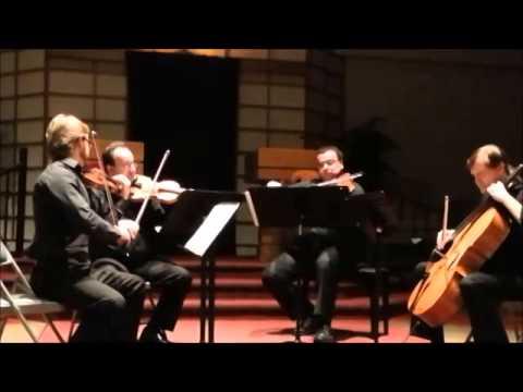 Beethoven Op. 59 No.1 String Quartet Mvt 3 and 4