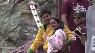 Couple Bungee Jump | Ganesh & Nisha Bungee Jump at Kawarau Bridge | New Zealand