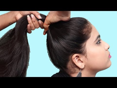 Easy juda hairstyles For Party/wedding || quick hairstyles || simple hairstyle || hair style thumbnail