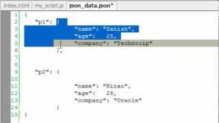 Fetch JSON Data Using jQuery AJAX Method: getJSON