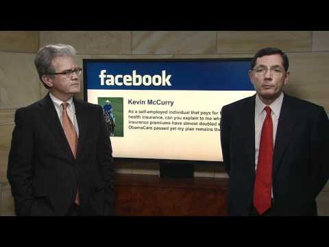 Obamacare Town Hall Featuring Sens. Tom Coburn and John Barrasso