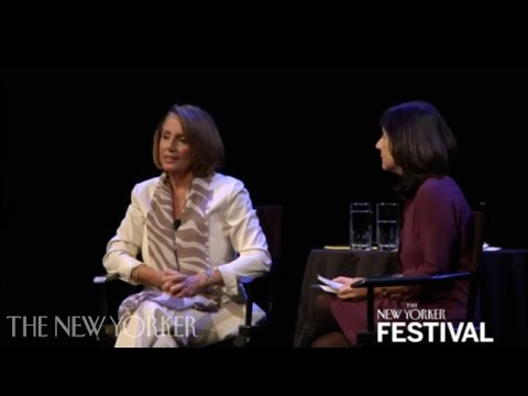Nancy Pelosi Talks with Jane Mayer - The New Yorker Festival - The New Yorker