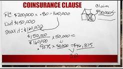 Replacement Cost and Coinsurance Part 2