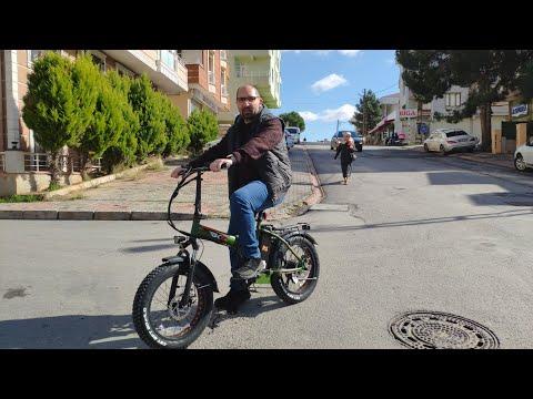 Elektrikli Bisiklet RKS RSIII Satın Aldık.