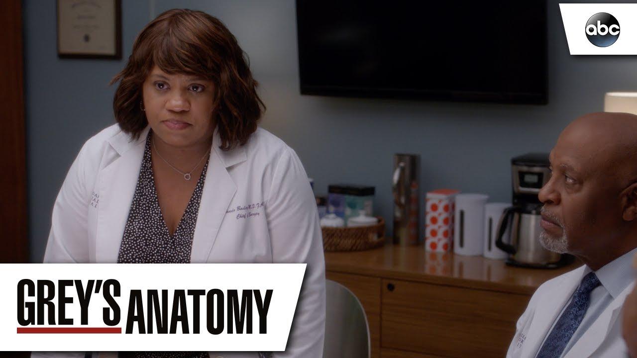 Dr Baileys Apology Greys Anatomy Season 14 Episode 22 Youtube