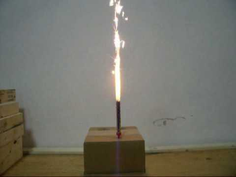 Smokeless Indoor Birthday Cake Sparklers