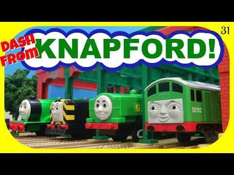 Dash From Knapford 31! Trackmaster Thomas And Friends Racing Competition!