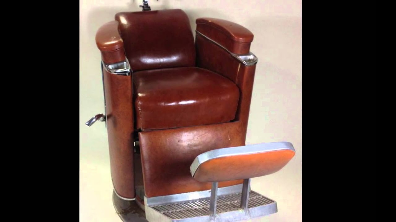 koken president barber chair display youtube