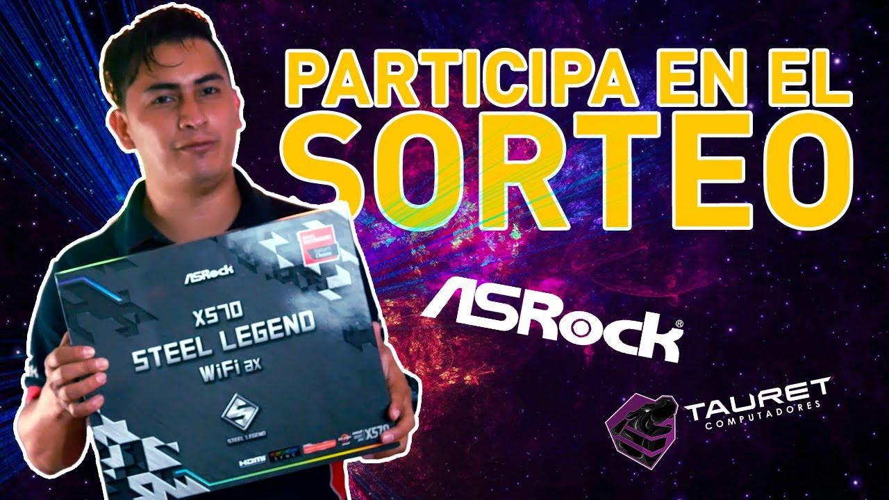 🥳 Regístrate y participa en el sorteo de una board AsRock X570 Steel Legend WiFi ax.